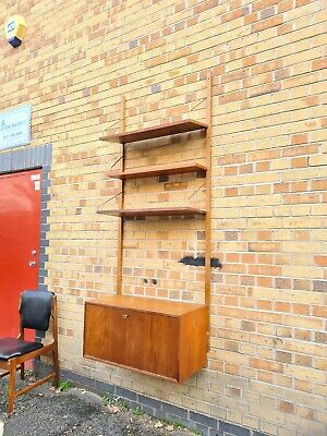 Danish Mid Century Cabinet Shelving By Poul Cadovius - Delivery • 695£