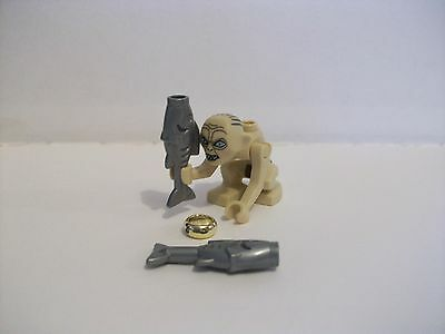 Lego Lord Of The Rings Hobbit Gollum + 2 Fish And The One Ring • 11.99£