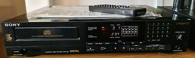 Modified SONY CDP 750 CD PLAYER Philips TDA1541 Valve Output Remote Control.VGC • 275£