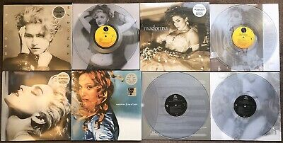 Madonna 4 Clear Vinyl LP's Like A Virgin Ray Of Light True Blue • 79.99£