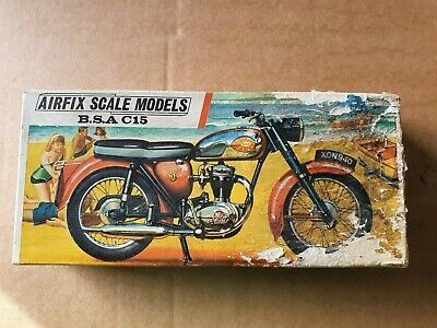 Model Collection Clearance: Airfix 1st Issue Red Stripe BSA C15 Star. 1/16th • 20£