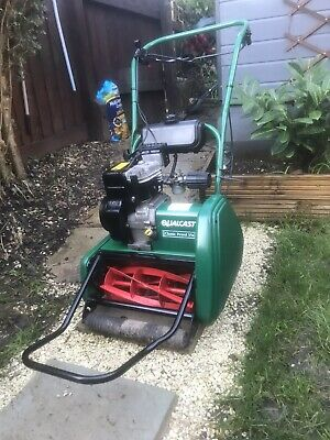 Qualcast Classic 35s Petrol Self Propelled Cylinder Lawnmower, Suffolk Punch. • 130£