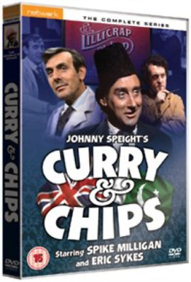 Spike Milligan, Eric Sykes-Curry And Chips: The Complete Ser (US IMPORT) DVD NEW • 7.43£