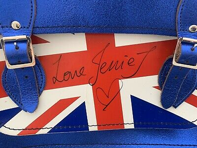 Authentic Signed Jessie J Leather Bag • 20£