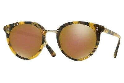 £98.45 • Buy Oliver Peoples 5323 Alain Mikli Spelman Palmier Yellow Soleil Tropical Sunglass