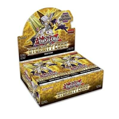 ETCO- YuGiOh Eternity Code Booster Box - 1st Edition - Brand New Sealed • 99.95£