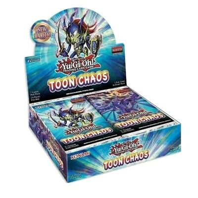 Yugioh Toon Chaos Booster Box Reprint Unlimited Edition Brand New Sealed  • 63.95£
