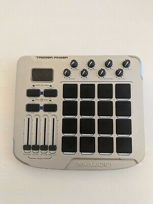$57.99 • Buy M-Audio Trigger Finger MIDI Controller With Pads