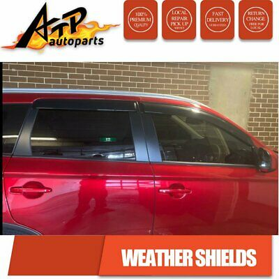 AU48 • Buy Weathershields Wind Shields Guard For Mitsubishi Outlander ZJ ZK ZL  2012-2020