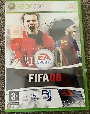 FIFA 08 (Microsoft Xbox 360, 2007) - European Version • 2.99£