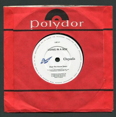 Blow The House Down -1989 - Living In A Box 7  Vinyl 45 RPM Record • 1.30£