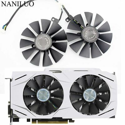 AU37.27 • Buy 2pcs Graphic Card Cooling Fan For ASUS DUAL GeForce GTX1060-O6G PLD09210S12HH