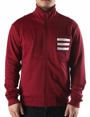 £89.99 • Buy Y-3 3 Stripe Cardinal Track Jacket - Brand New With Tags