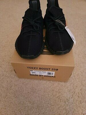$ CDN502.32 • Buy Adidas Yeezy Boost 350 V2  Bred/Black Red  Size 10.5, *IN HAND*