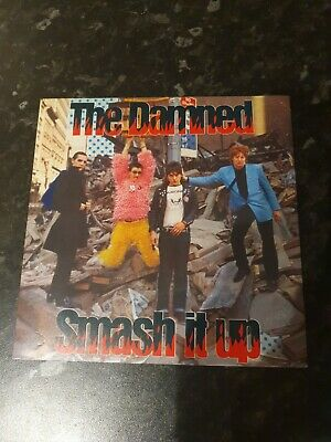 The Damned Smash It Up 7inch Red Vinyl Nm Condition  • 4.99£
