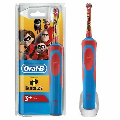 AU38.54 • Buy Oral-B Stages Kids Electric Rechargeable Toothbrush, Disney INCREDIBLES 2 Design