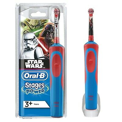 AU35.92 • Buy Oral-B Stages Power Vitality Kids Electric Toothbrush For Children - STAR WARS
