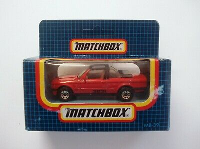 AU5.99 • Buy Matchbox MB-39 BMW Cabriolet, 1987, Made In Macau, Unopened Old Shop Stock