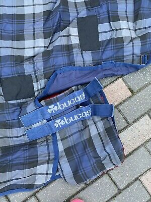 6'9 Middle/heavy Bucas Stable Rug Blue  Used • 18£
