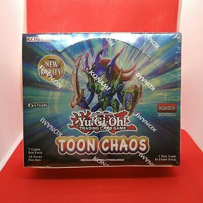 Yugioh - Toon Chaos Booster Box - 1st Edition - Brand New Sealed • 184£
