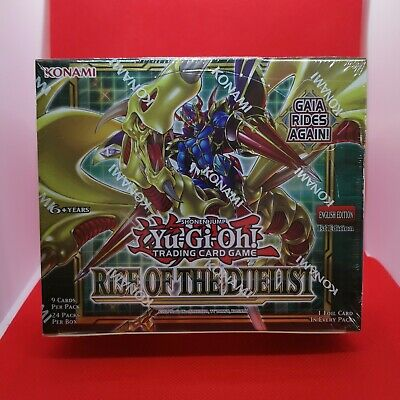 #2 Yugioh - Rise Of The Duelist - 1st Edition - Booster Box Factory Sealed • 149.75£