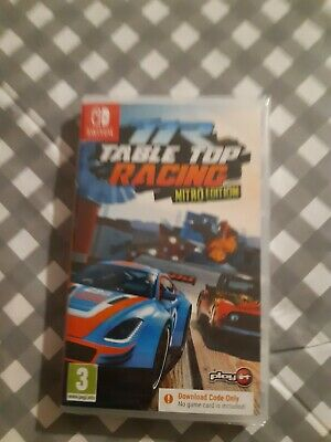TR TABLE TOP RACING Nitro Ed Nintendo Switch GAME Download DLC NEW SEALED UK  • 13.99£