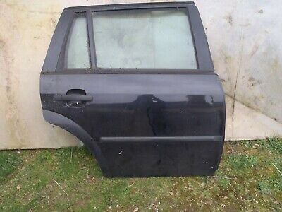 Ford Mondeo Mk3 2001-2007 Complete Rear Drivers Side O/S Right Door Panther Blac • 30£