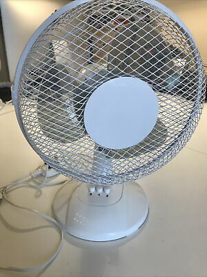 "CED 9"" Desk Fan Model: STF9D • 6.50£"
