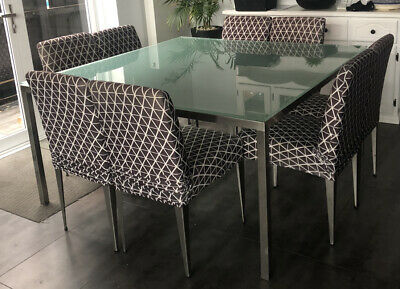 AU0.99 • Buy Square Dinner Table With 8 Chairs - Dining Set - 9 Piece