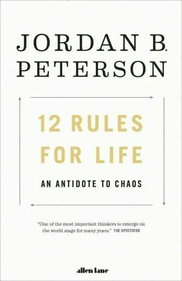 AU20 • Buy 12 Rules For Life By Jordan B. Peterson (Paperback, 2018)