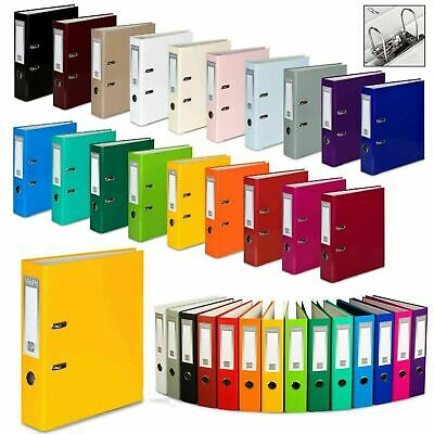 £5.40 • Buy Lever Arch Files A4 Large 75mm Folders Stationery Metal Document Storage 1 5 10