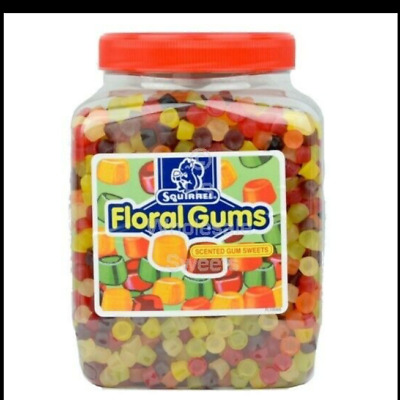 SQUIRREL Scented FLORAL GUMS CHOOSE THE WEIGHT Retro Sweets • 14.40£