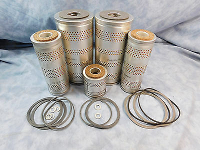 $91.85 • Buy M35a2 Filter Kit *napa Gold* W/correct Gaskets For Multi Fuel Ld-465/ldt-465
