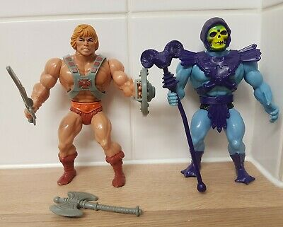 $61.84 • Buy Vintage 80s He-Man Masters Of The Universe MOTU Complete & Near Figures Rare1982