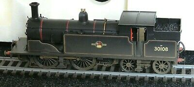 Hornby 00 Scale R2506 BR Lined Black Ex LSWR M7 0-4-4T 30108 Factory Weathered • 30£