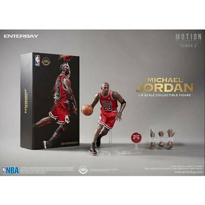 $400 • Buy Michael Jordan Figure Enterbay 1/9 Motion Masterpiece Chicago Bulls