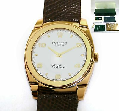 $ CDN6960.08 • Buy 2013 Rolex Cellini Cestello 5330 White Dial 18k Rose Gold 36mm Box Papers