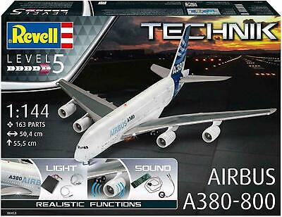Revell Airbus A380-800 Electric Aircraft Plane Model Kit Lights +sound Xmas Gift • 169.95£