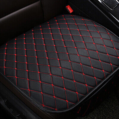 $ CDN16.11 • Buy 1x Universal Car Chair Seat Cover Front Cushion Black PU+Red Line Accessory