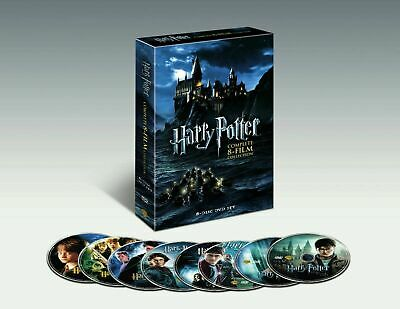 $ CDN25.36 • Buy Harry Potter: Complete 8-Film Collection (DVD, 2011, 8-Disc Set) Brand New