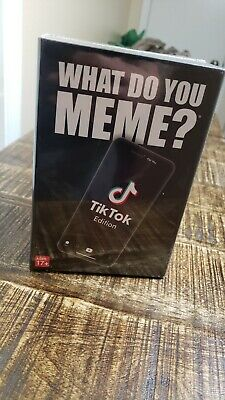 "AU26.24 • Buy ""What Do You Meme? Tik Tok Edition Party Game"