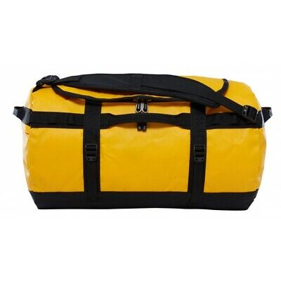 Reisetasche The North Face Base Camp Duffel S Summit Gold Black NEU • 68.94£