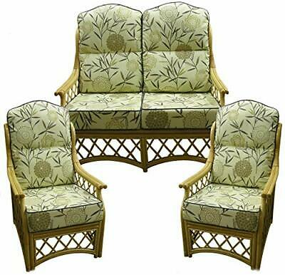 £55 • Buy GILDA CANE CUSHIONS ONLY Replacement Chair Sofa Suite Conservatory Furniture
