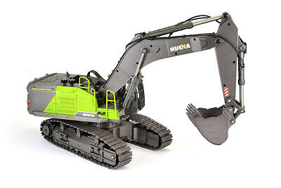 Huina 1/14th RC Excavator Digger Construction Vehicle With Diecast Metal Bucket • 160.98£