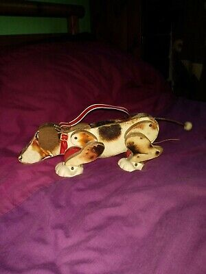 Vintage Fisher Price Snoopy Sniffer Pull Along Dog • 5.95£