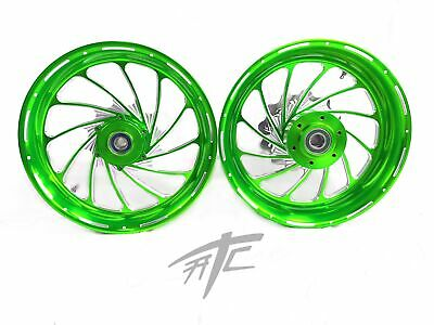 $2399.99 • Buy Gsxr Stock Size Candy Green Contrast Turbo Wheels 01-08 Suzuki Gsxr 1000
