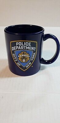£5.96 • Buy NYPD New York Police Department Coffee Cup Mug Law Enforcement Blue
