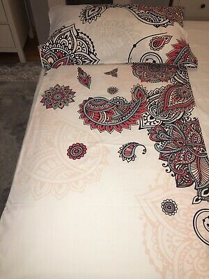 Ikea Stickbracka Single Duvet Cover Hardly Used 100% Cotton • 12.99£