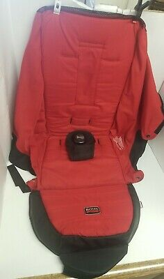 Britax B-Agile Single Stroller Red Fabric Seat Cover Cushion /2014 #U451837 • 12.74£