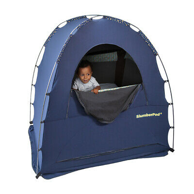 AU289.95 • Buy SlumberPod 2.0 Portable Tent/Sleeping Pod/Bed For 4m-5y Baby/Kids/Toddler Blue